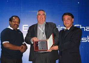 Techserve lands award triple win at Panasonic partnership convention