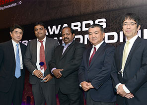 Techserve wins Silver Award in Toshiba distributors' annual event