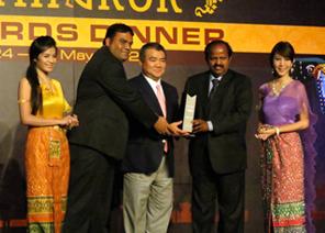 Techserve wins Toshiba Best Distributor 2011 silver award